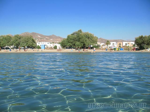 Saint George Beach & Naxos Town