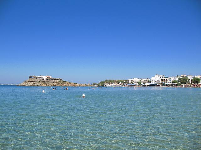 Saint George Beach & Naxos Town